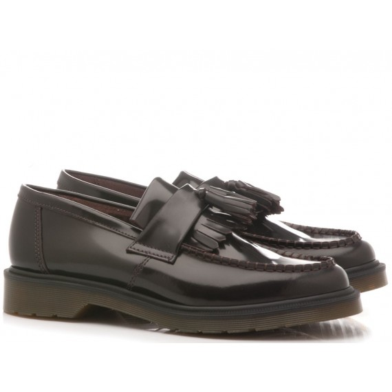 Dr. Martens Men's Shoes Loafers Adrian Cherry Red