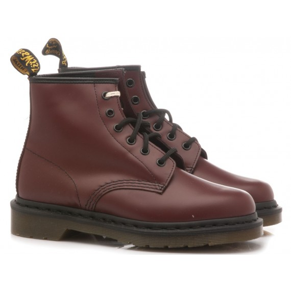 Dr. Martens Women's Ankle Boots 101 Cherry Red