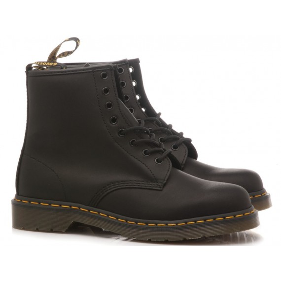 Dr. Martens Men's Ankle Boots Black Greasy 1460 11822003