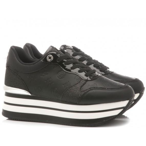Guess Scarpe-Sneakers Basse Pelle Nero