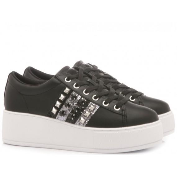 Guess Scarpe-Sneakers Pelle Nero