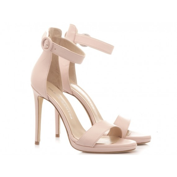 Giulia Santini Women's Sandals Leather Nude