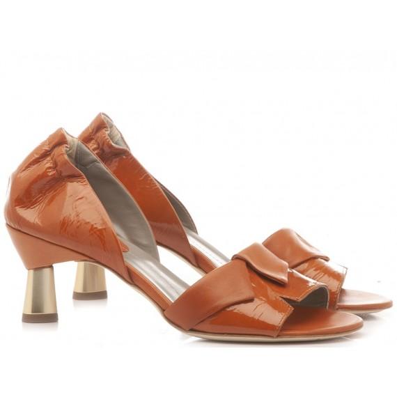 Ixos Women's Shoes Leather Caramel