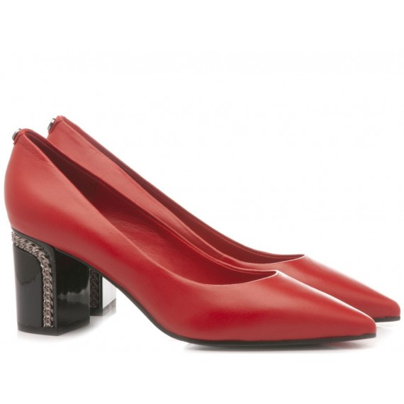 Guess Women's Shoes Decolletè Red