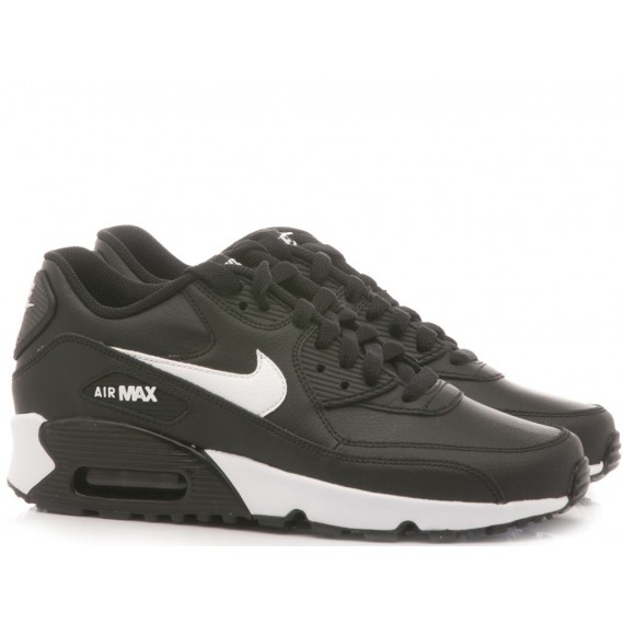 Nike Children's Sneakers Air Max 90 (LTR GS) Black