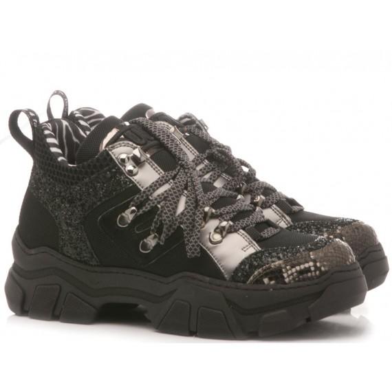 Méliné Sneakers Donna Nero MA751