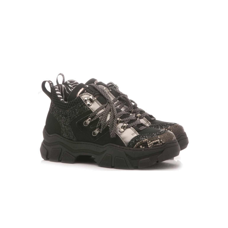 Méliné Women's Sneakers Leather Black MA751