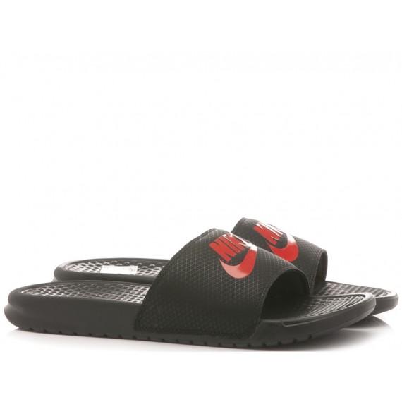 Nike Ciabatte Uomo Benassi JDI Black-Red