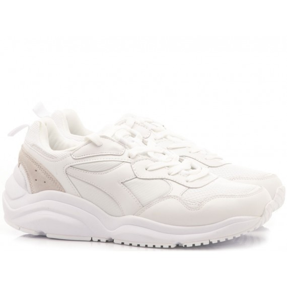 Diadora Men's Sneakers Wizz Run White
