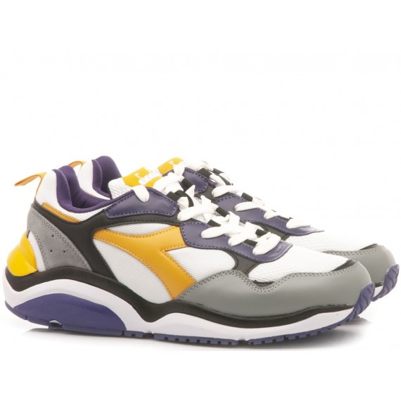 Diadora Men's Sneakers Wizz Run Violet
