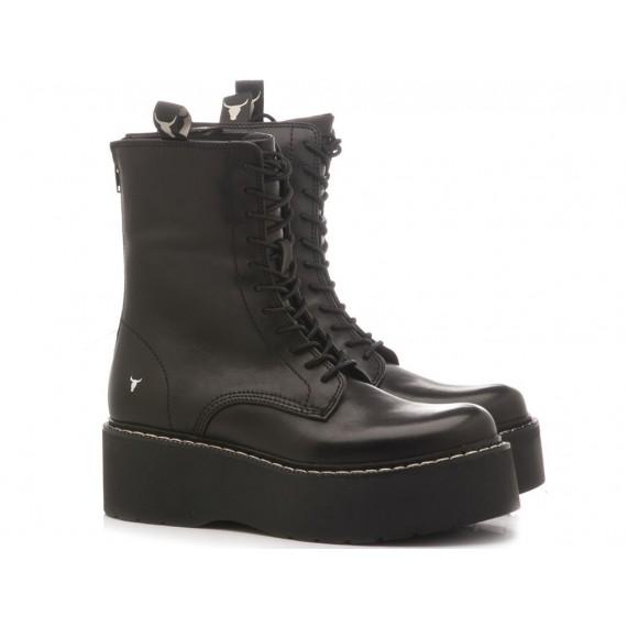 Windsor Smith Women's Ankle Boots Raverr Black
