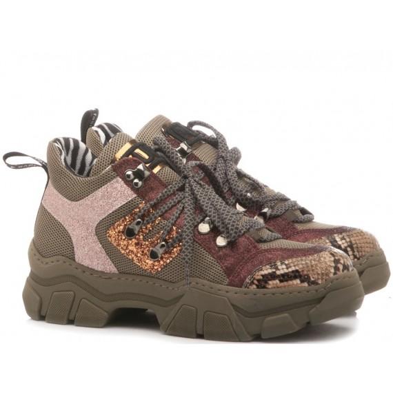 Méliné Sneakers Donna Verde MA751