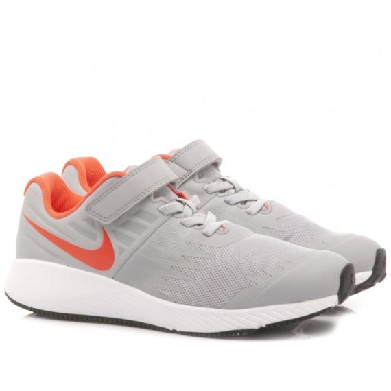 Nike Sneakers Bambina Tanjun (PS) Tessuto Tecnico Grigio