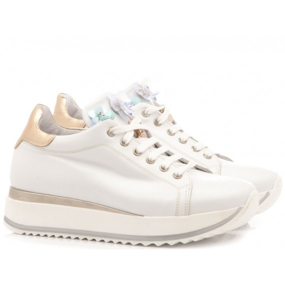Chiara Luciani Sneakers Bambina 135-18 Bianco