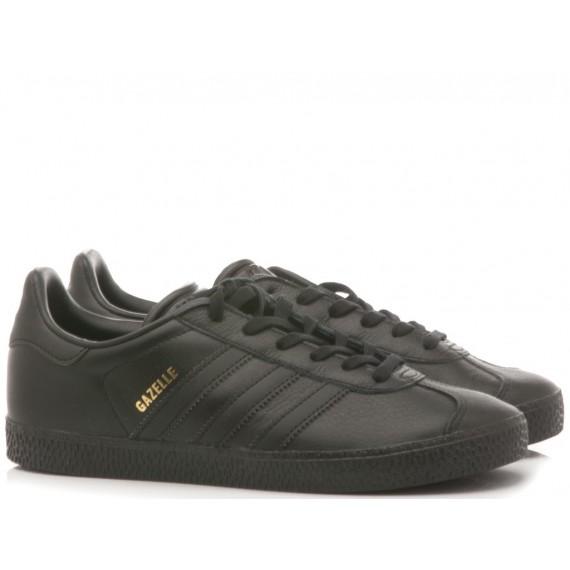 Adidas Sneakers Bambino Gazelle J Black BY9146