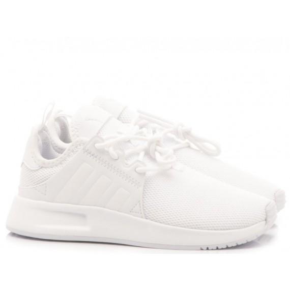 Adidas Sneakers Bambino ZX Flux J Bianco S81421