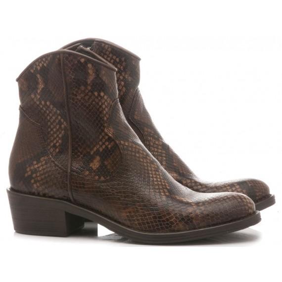 Keb Women's Ankle Boots Pyton Ebony 513
