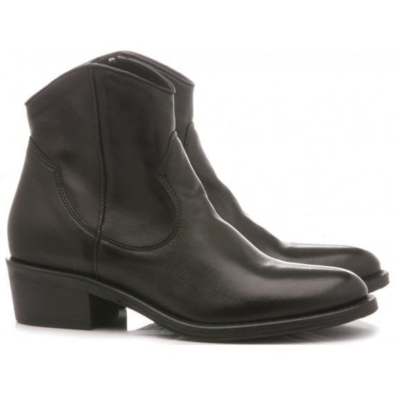 Keb Women's Ankle Boots Leather Black 513