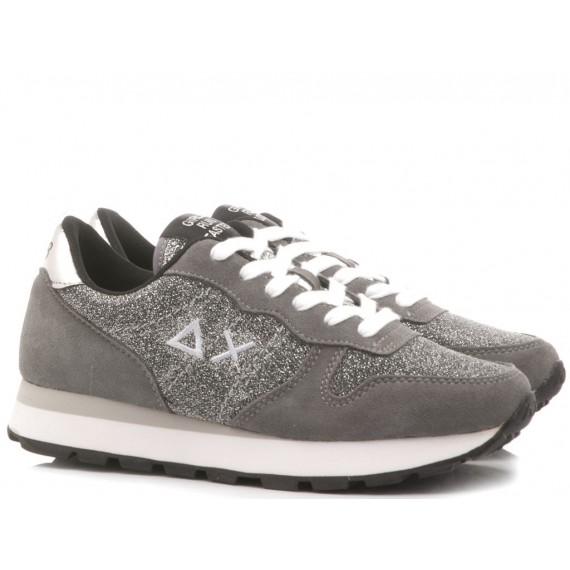Sun 68 Scarpe-Sneakers Donna Ally Glitter Mesh Z29203