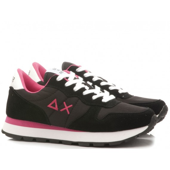 Sun 68 Women's Sneakers Ally Solid Nylon Z29201