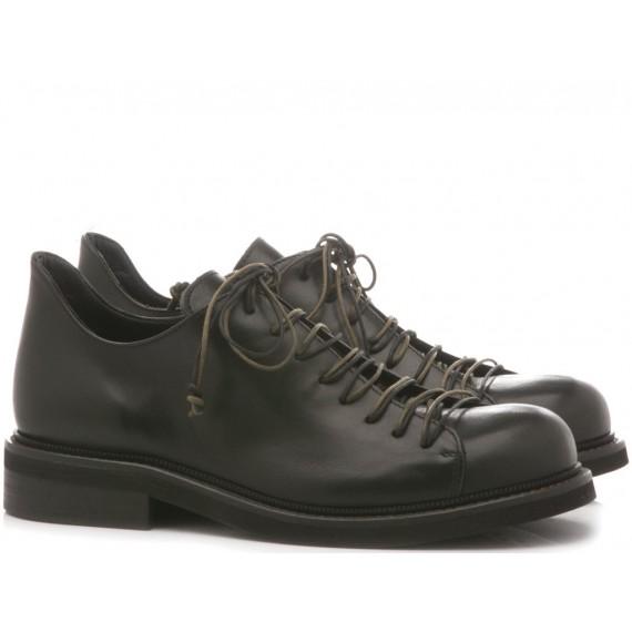 MAT:20 Women's Shoes Leather Black 4301