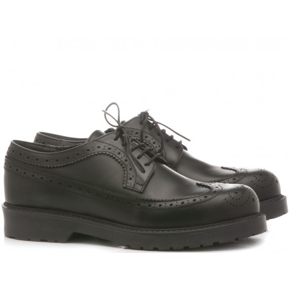 Red Creative Women's Shoes Leather Black 9501