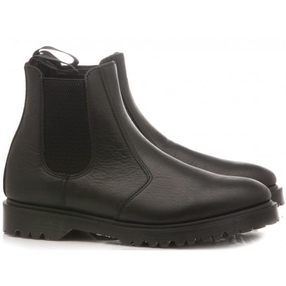 Dr. Martens Men's Chelsea Boot Black Inuck 16768001