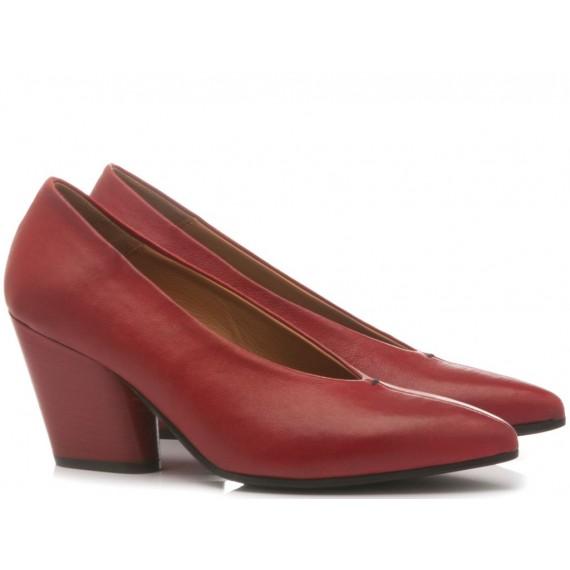 MAT:20 Women's Shoes Leather Red 5610