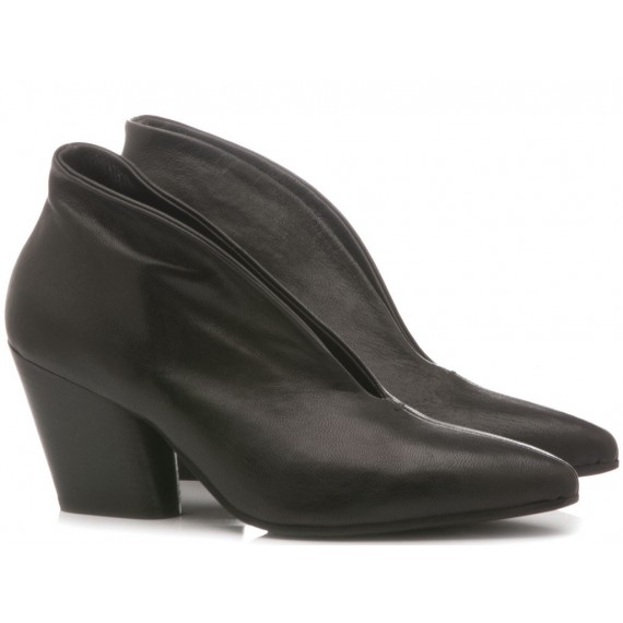 MAT:20 Women's Ankle Boots Leather Black 5614