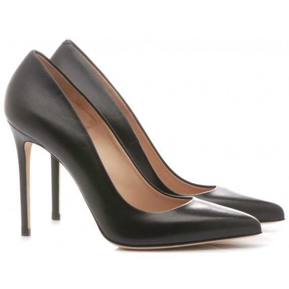 Sergio Levantesi Women's Shoes Decolletè Myss Leather Black