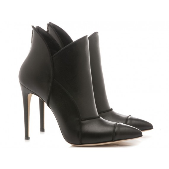 Sergio Levantesi Women's Ankle Boots Lamu Leather Black