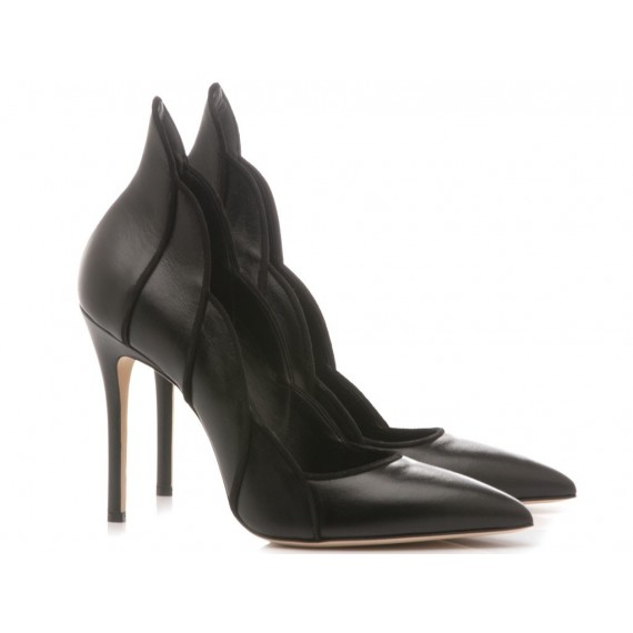 Sergio Levantesi Women's Shoes Decolletè Lyang Leather Black