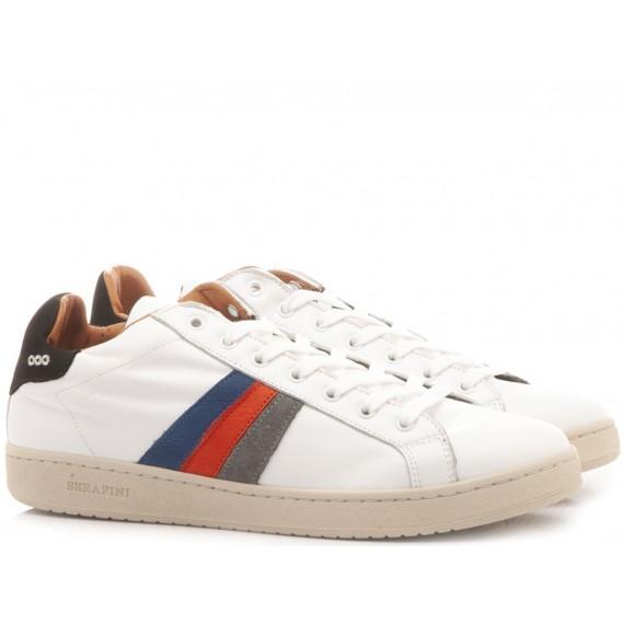 Serafini Sneakers Basse Uomo Borg Bianco