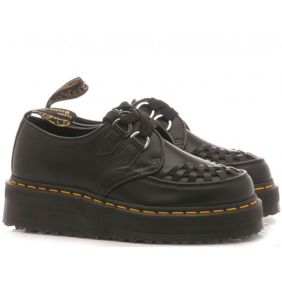 Dr. Martens Women's Shoes Sidney Polished Smoot Black