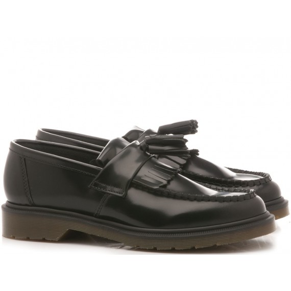 Dr. Martens Men's Loafers Adrian Leather Black