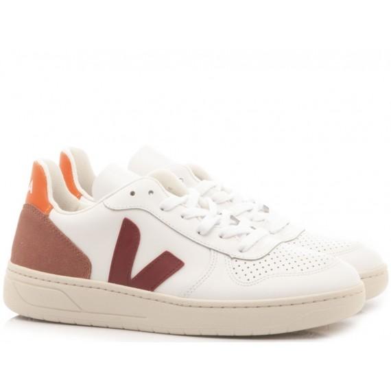 Veja Women's Sneakers V-10 Marsala