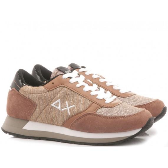 Sun 68 Scarpe-Sneakers Donna Kate Glitter Mesh Z29213