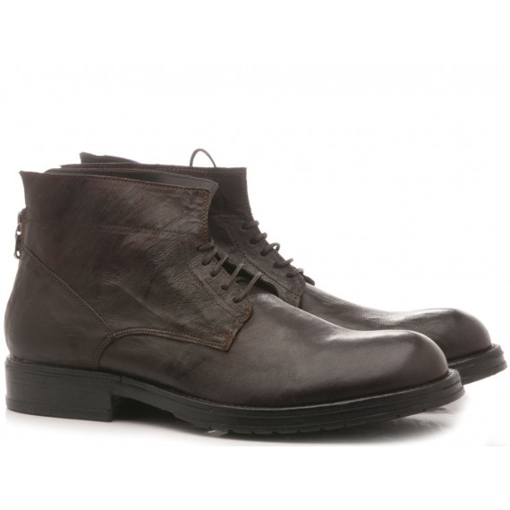 Pawelk's Men's Ankle Boots Ebony 15513