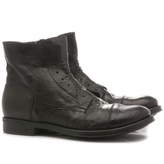 Pawelk's Men's Ankle Boots Black 19842