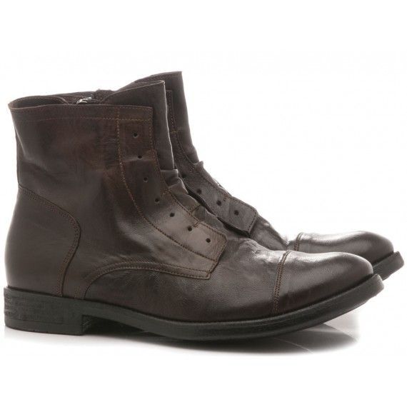 Pawelk's Men's Ankle Boots Ebony 19842
