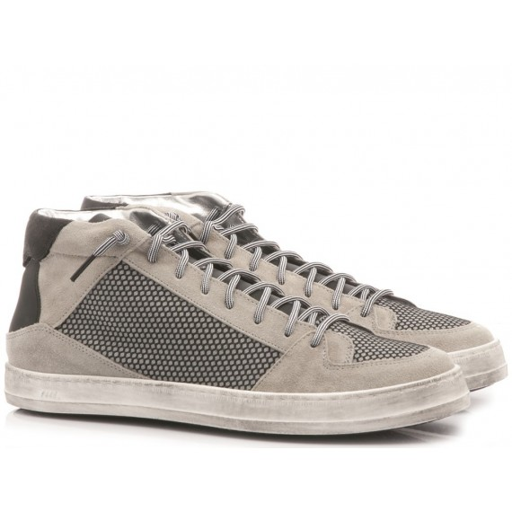 P448 Sneakers Alte Uomo F9 Queensmid Greymesh