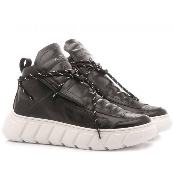 Ylati Men's Low Sneakers Ulisse Black