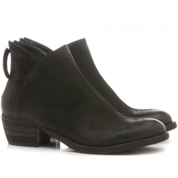 MAT:20 Women's Ankle Boots Suede Black 5706