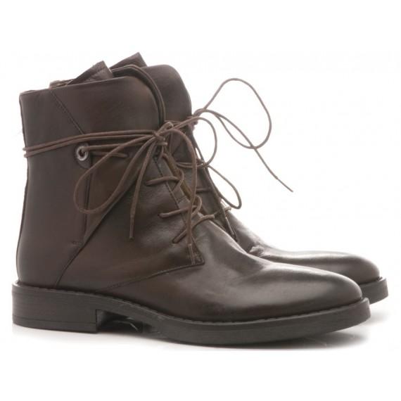 Poesie Veneziane Women's Ankle Boots Leather Ebony GBARCH2448