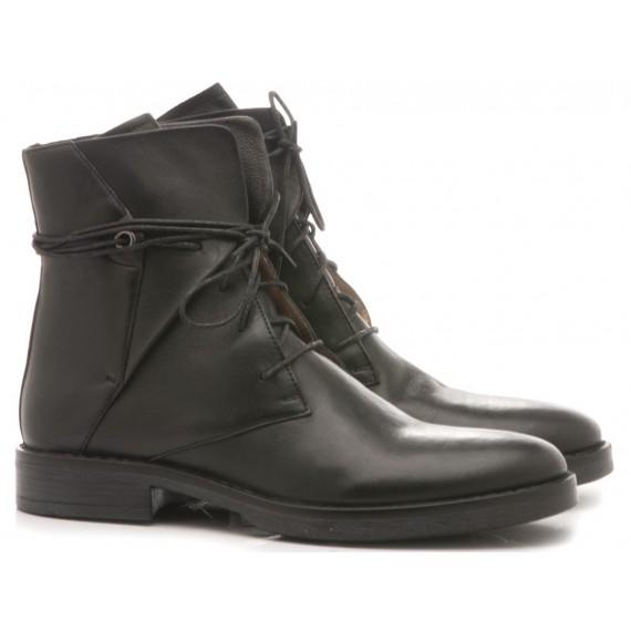 Poesie Veneziane Women's Ankle Boots Leather Black