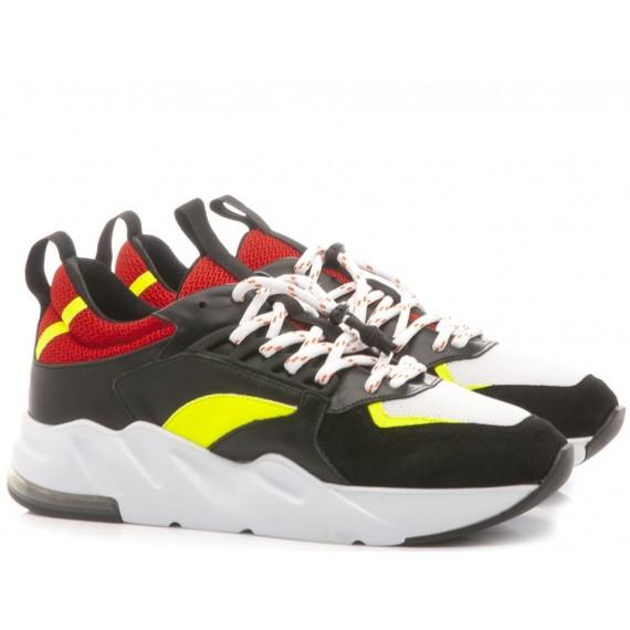 Ylati Men's Low Sneakers Ponza2 Black