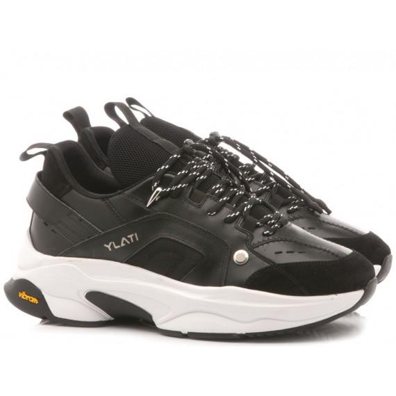 Ylati Men's Low Sneakers Positano1 Black