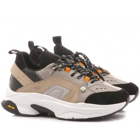Ylati Men's Low Sneakers Positano1 Pearl