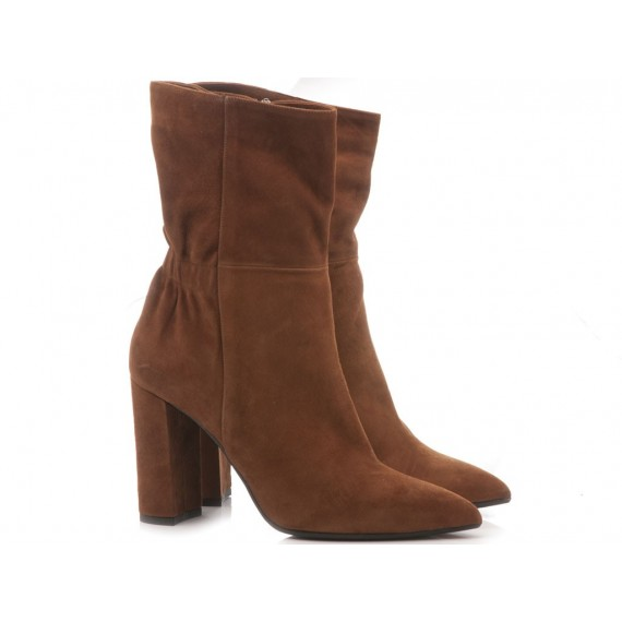 Chantal Woman's Ankle Boots Suede 340