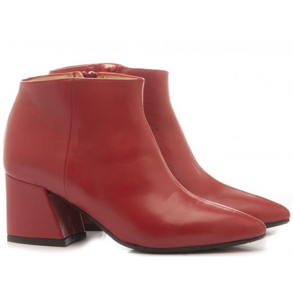 L'Arianna Women's Ankle Boots Siviglia Red TR1167/G